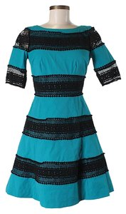 Tracy Reese Lace Trim Dress