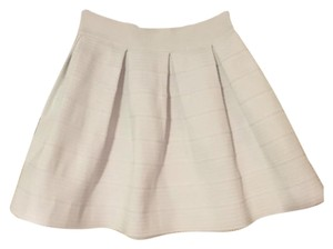 Express Mini Skirt White