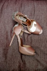 Badgley Mischka Gene Platform Pump Wedding Shoes