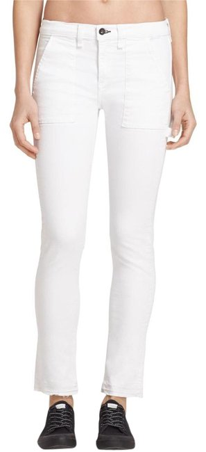 Item - White Light Wash 2016 Carpenter Dre - Aged Bright Mid-rise Bnwt Straight Leg Jeans Size 27 (4, S)