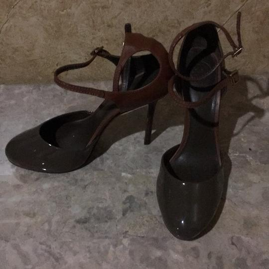 Tory Burch Taupe and brown Platforms Image 2