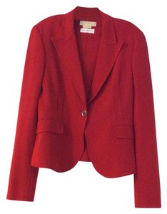 Michael Kors Collection Red Blazer