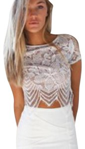 Tiger mist Top White