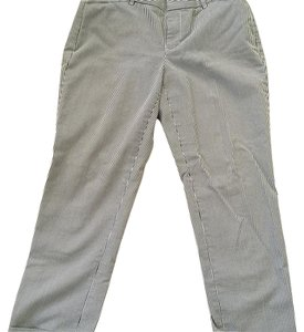 Gap Straight Pants Blue and white