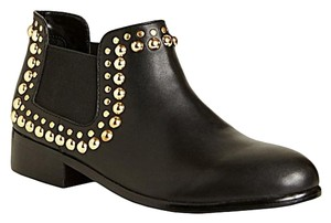 Betsey Johnson Leather Studded Boots