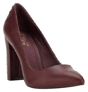 Elliot Lucca Leather Pump Vino Pumps