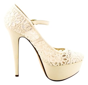 Anne Michelle Beige Platforms