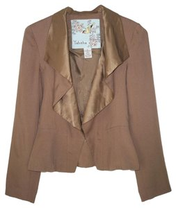 Anthropologie Jacket Tencel Silk Tomasina Blazer