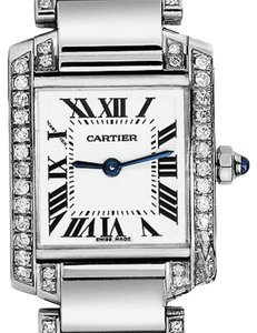 Cartier Ladies Tank W51008q3 Complete With Box And Papers Watch