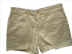 Tommy Hilfiger Denim Pocket Size 4 Shorts Yellow