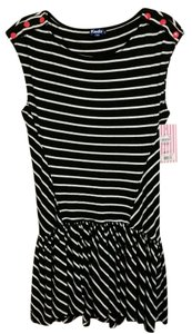 Keds short dress Black and white on Tradesy