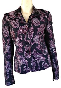 Garfield & Marks Brocade Paisley Multi-colored Blazer