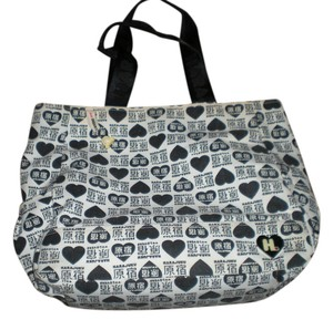 Harajuku Lovers Duffle Gwen Stafani Tote in black and white