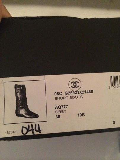 Chanel gray Boots Image 1