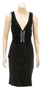 Versace short dress Black on Tradesy