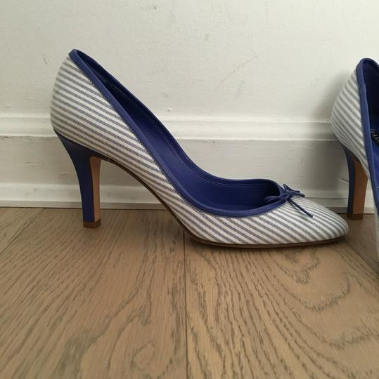 Ralph Lauren Blue Label Blue/White Pumps Image 1