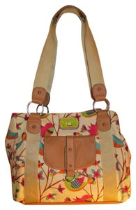Lily Bloom Floral Birds Tote in multi color