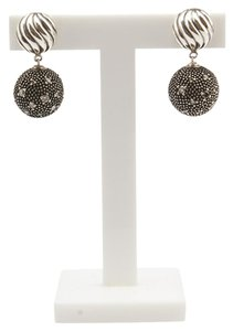 David Yurman David Yurman Midnight Melange Diamond Ball Drop 925 & Diamond Earrings (92878)