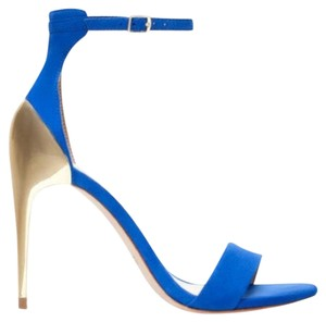 Zara Sexy Stylish Mint Condition Blue Pumps