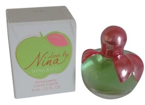 Nina Ricci New Love By Nina Ltd Edition Collectable 4ml Mini Travel Size Perfume