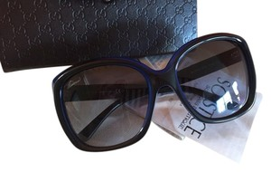 Gucci Black Blue Gucci Sunnies