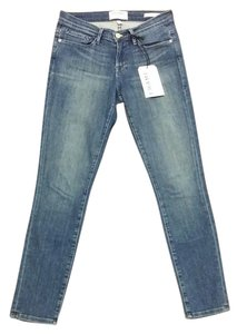 Frame Denim Skinny Jeans-Medium Wash