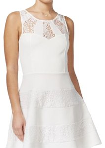 Trixxi short dress White on Tradesy