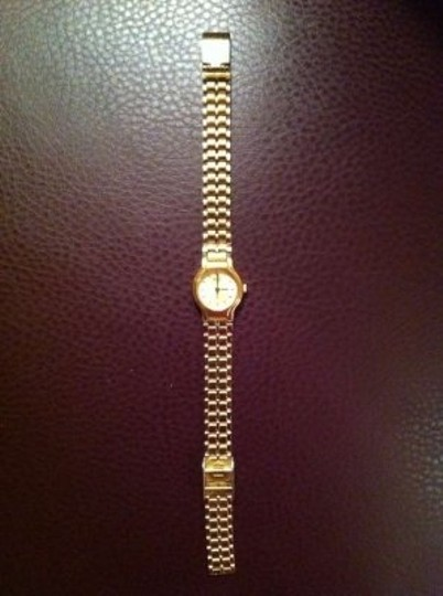 Seiko gold watch