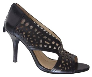Tahari Cut-out Office Elegant Black Sandals