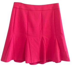 Banana Republic Fluted Skirt Pink