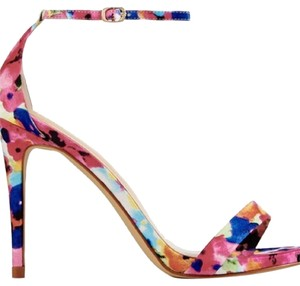 JustFab Pink, Blue, Purple Sandals