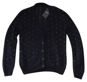Saint Laurent Sweater Button Down Beaded Cardigan