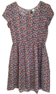 H&M short dress Floral Comfortable on Tradesy