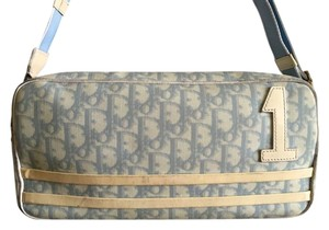Dior Vintage Signature Monogram Cross Body Bag