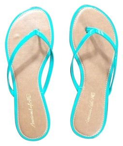 American Eagle Outfitters Teal Flats