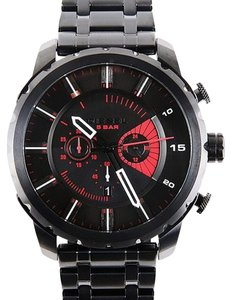 Diesel Diesel DZ4367 Men's Stonghold Black Chronograph Oversized Dial Watch