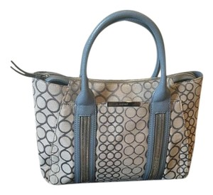 Nine West Satchel in Blue and Grey