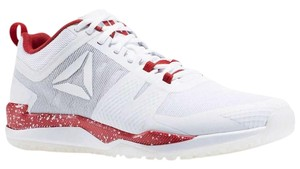 Reebok Red and White Athletic