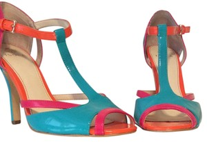 Isola Teal, Pink, Orange Sandals