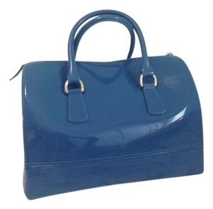 Furla Candy Purse Satchel in Blue