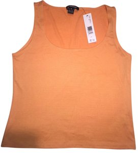 Ellen Tracy Casual Comfort Top Orange