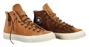 Missoni Suede Converse Sneaker Brown Boots