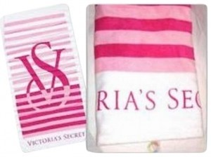 Victoria's Secret Victoria's Secret Beach Towel with VS Logo