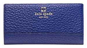Kate Spade New Southport Avenue Stacy Wallet Holiday Blue Color