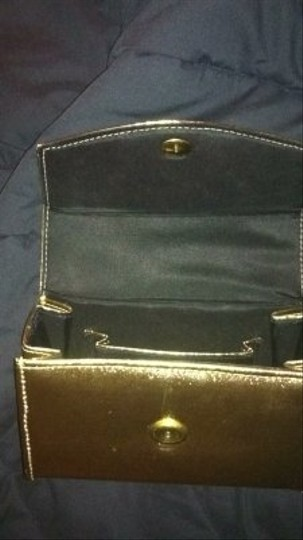 Other Purse Evening Vintage Satchel in gold metallic
