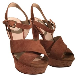 Michael Kors Swade brown Platforms