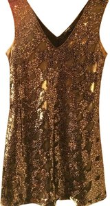 Express Sequin Sleeveless Mini Dress