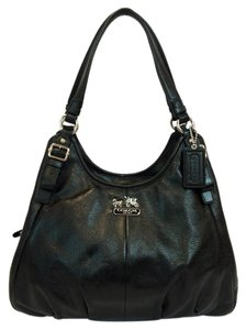 Coach Madison Maggie Leather Shoulder Bag