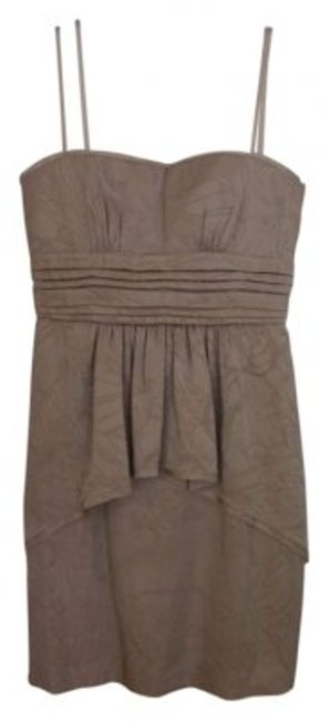 Preload https://img-static.tradesy.com/item/177957/bcbgmaxazria-light-sepia-karla-above-knee-cocktail-dress-size-petite-4-s-0-0-650-650.jpg
