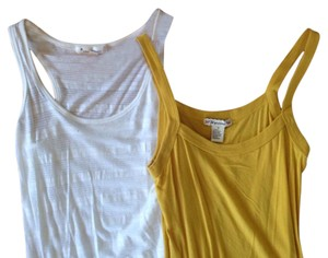 Forever 21 Spaghetti Top Yellow